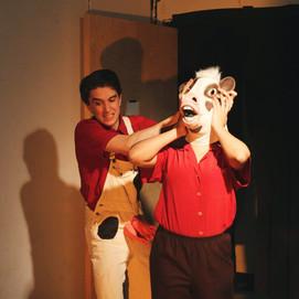 JOE METCALF AS SAM FOGELBERG, IMANI RUSSELL AS GAIL FOGELBERG