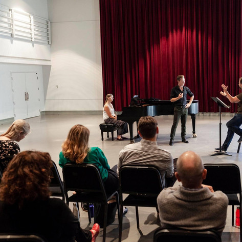 Masterclass with Etienne Dupuis, 2019