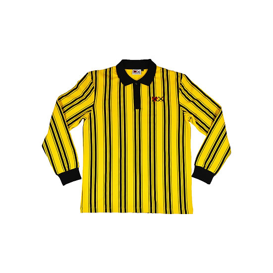 Yellow 'Retro, Long Sleeve Polo