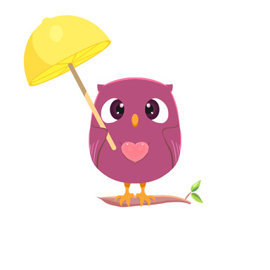 Lemonbrella Owl
