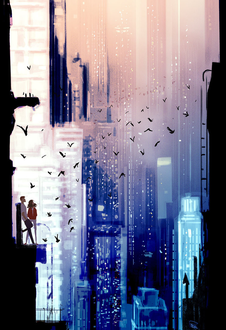 High on Top, by Pascal Campion, 2016