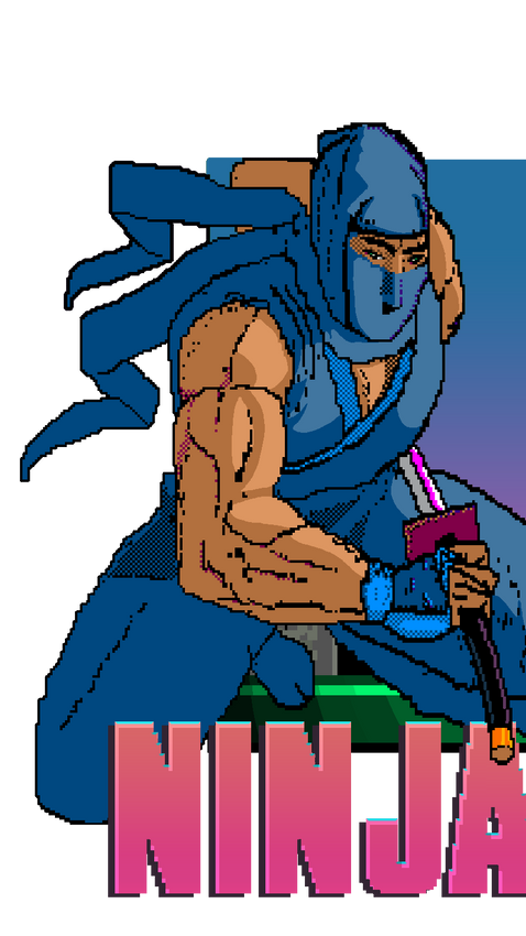 Ninja Gaiden: An MS Paint Adventure!