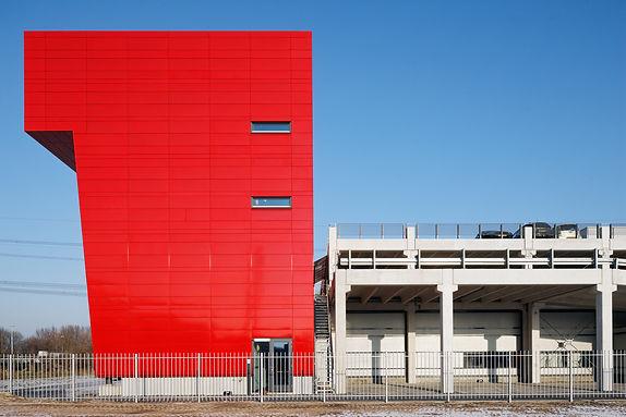 Bas Gremmen Architectuur: Zijgevel Hoofdkantoor Fagron