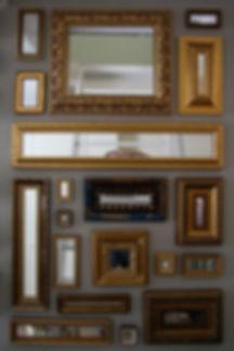 Bas Gremmen Architectuur: nieuwe kleur acher bestaande schilderijen
