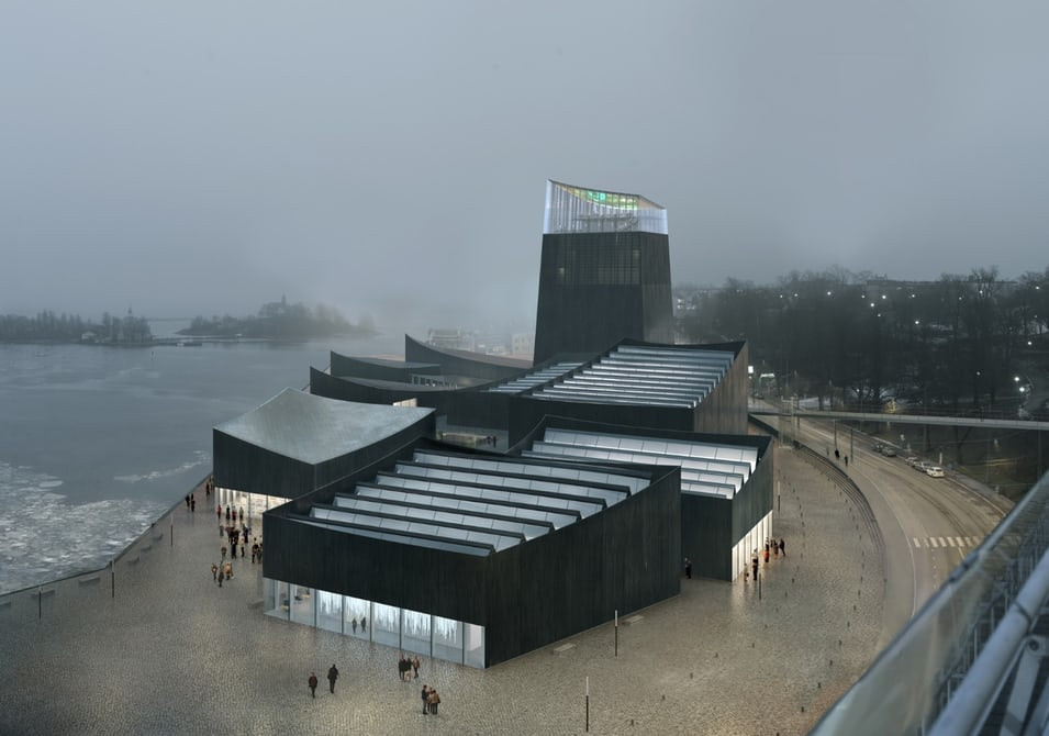 Helsingin Guggenheimin havainnekuva, Moreau Kusunoki Architectes