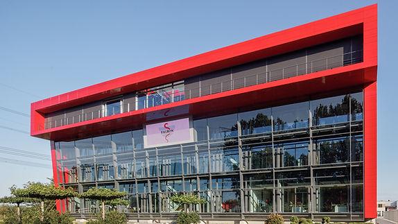 Bas Gremmen Architectuur: Voorgevel hoofdkantoor Fagron