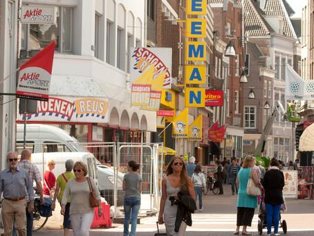 Winkelpanden in de binnenstad: faillissement of rendement