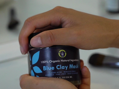 Blue Clay Face Mask