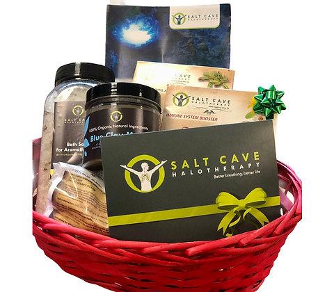 Salt Cave Hamper Basket