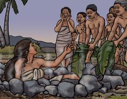 Hinaikeahi's sacrifice