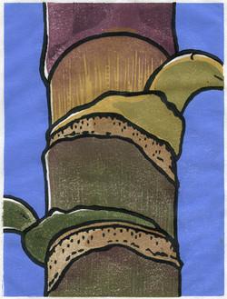 """Palm Trunk"" by Eve Furchgott"