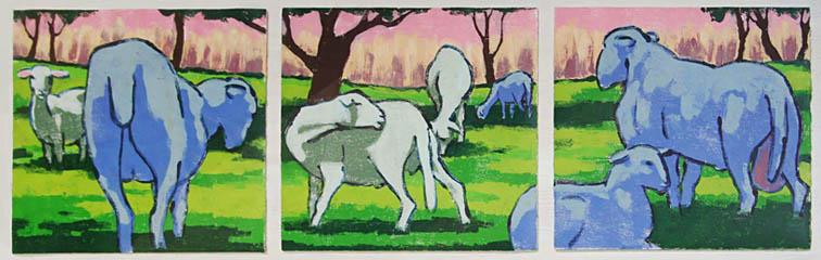 """Triptych Pastorale"""