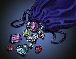 shiny jewels