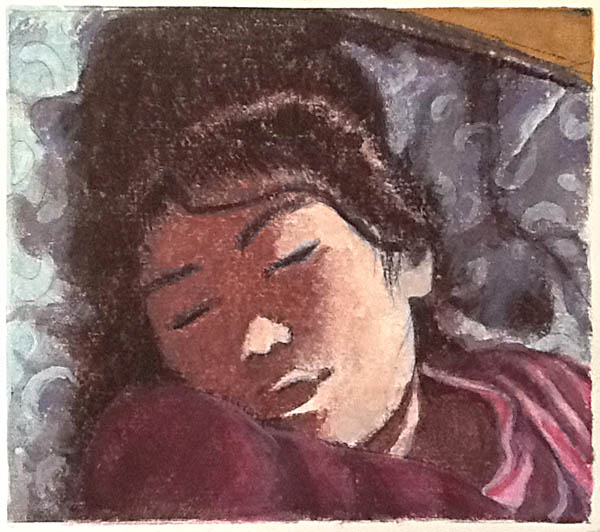 """Sleeping Girl"""