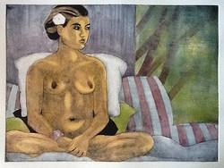 """""""Sitting"""" by Eve Furchgott"""