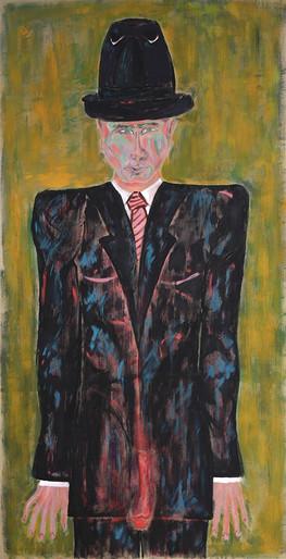 Putin _ Acryl on Canvas _ 195cm x 99cm _