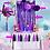 Thumbnail: Papel Picado - Kit Decoración Sirenita