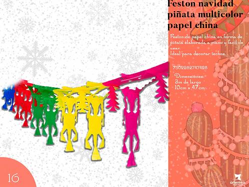 Papel Picado -Festones Navidad Varios Diseños
