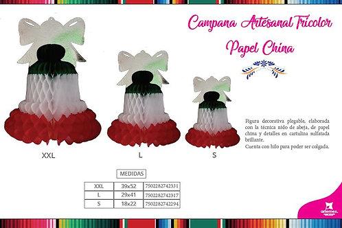Campana Artesanal Tricolor