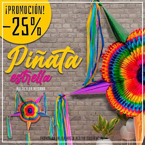 Papel Picado - Piñata Estrella