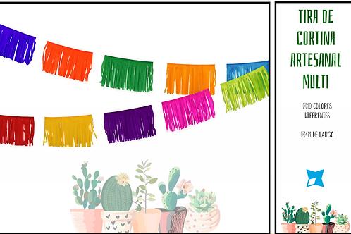 Papel Picado - Enramada Hawaiiana Multicolor