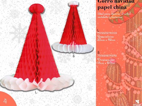 Papel Picado - Gorro Navidad