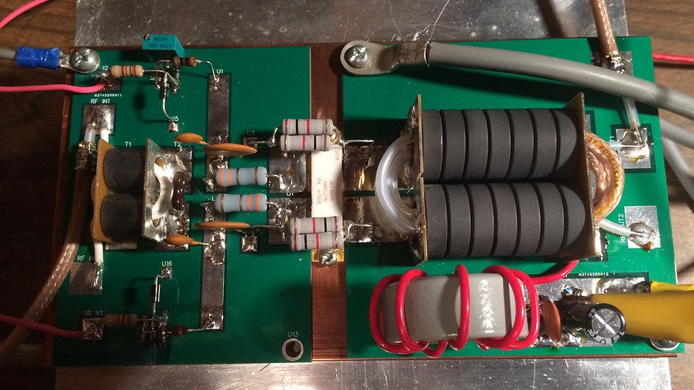 1500 Watt PEP LDMOS RF Amplifier