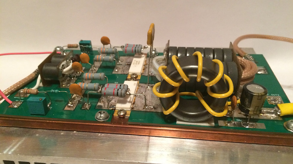 3000 Watt PEP LDMOS Amplifier