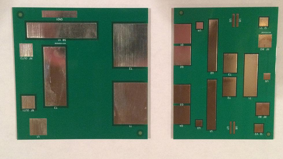 Dual LDMOS Bare PC Board