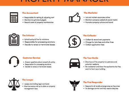 The Many Hats Of A Property Manager - The Accountant!