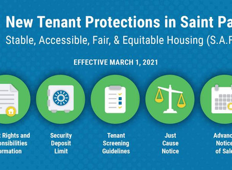 New St. Paul Tenant Protections