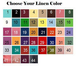 Solid Colors numbered