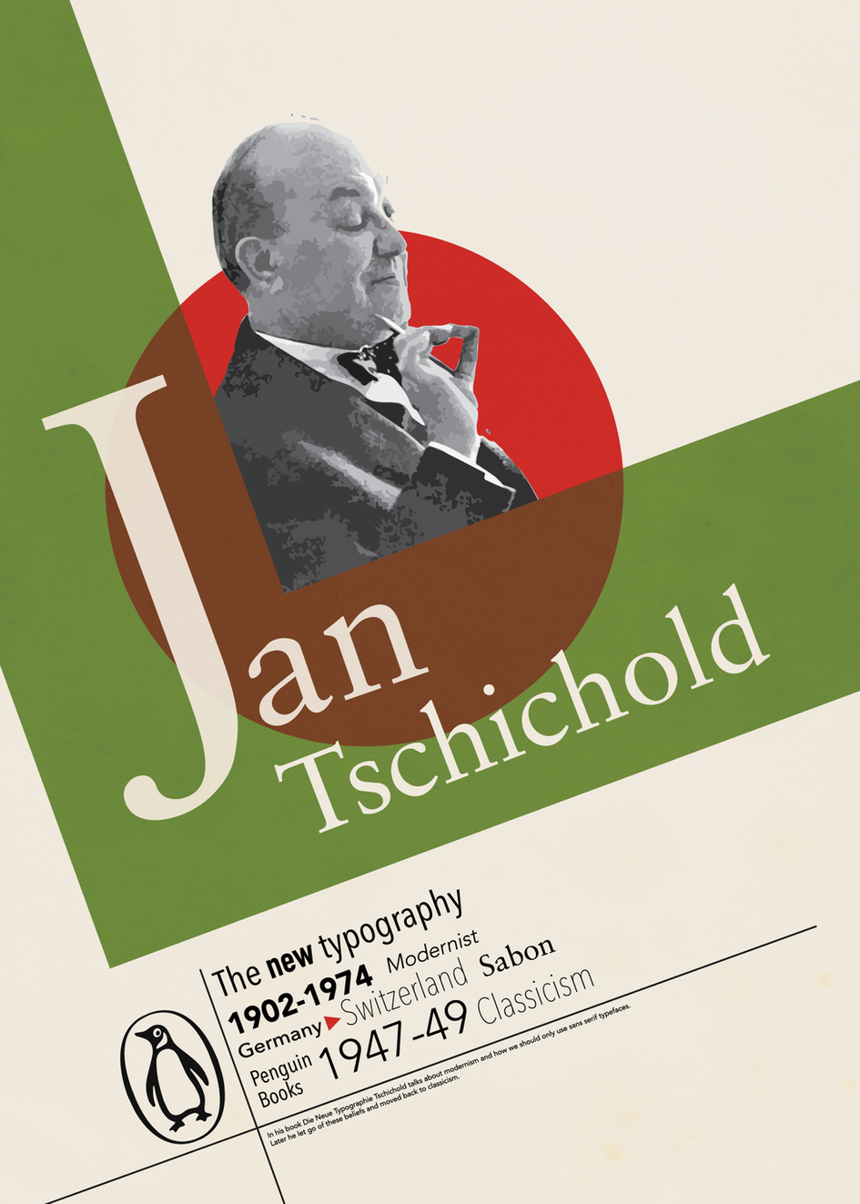 A tribute to Jan Tschichold