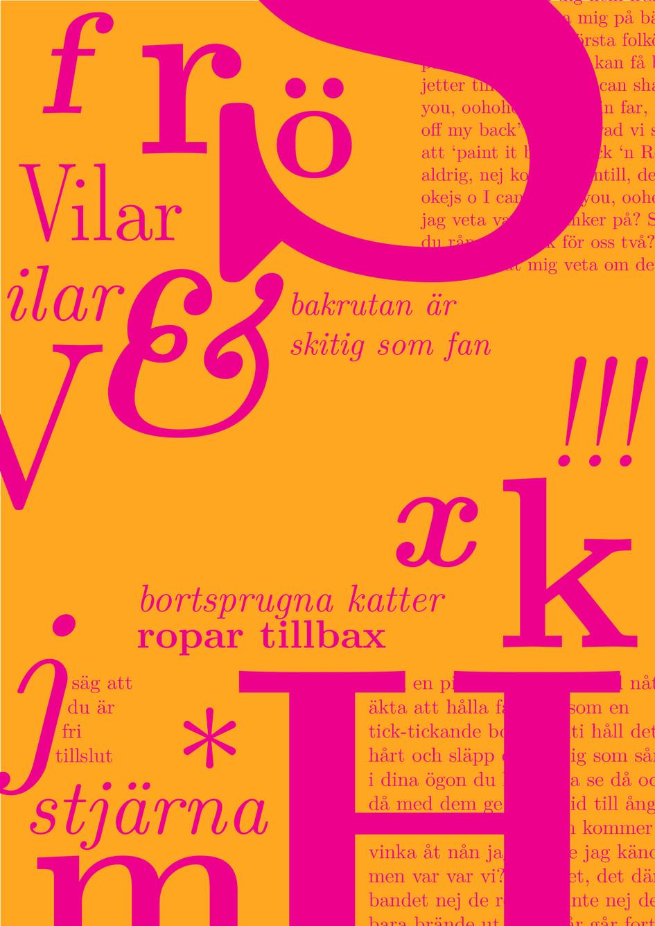 Latin modern roman type specimen