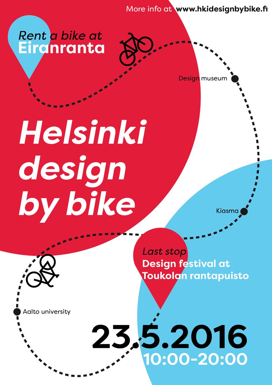 Helsinki design by bike