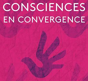 logo Consciences en convergence, pièce de théâtre, lecture théatralisée, conférences/débat, médiatio