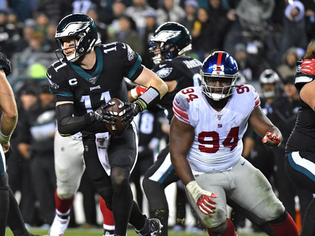 Prévia TNF - Philadelphia Eagles X New York Giants