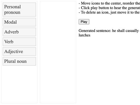 Random Sentence Generator