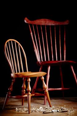 Fanback & mini Balloon Back Chairs