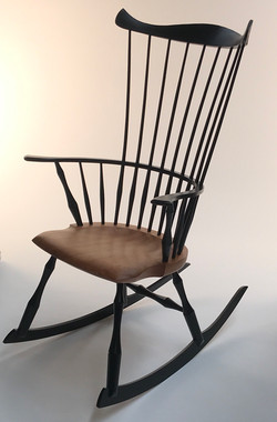 Comb Back Rocking Chair