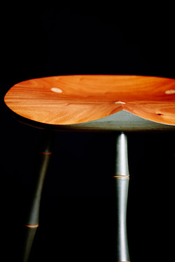 Perch Stool - seat detail