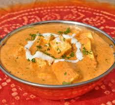 Shahi Paneer (with yellow gravy)