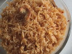 Burnt Ginger Rice