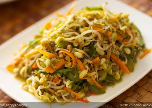 Soya Stir Fry Bean Sprouts