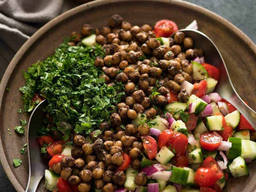 Spicy Chickpeas and Kale