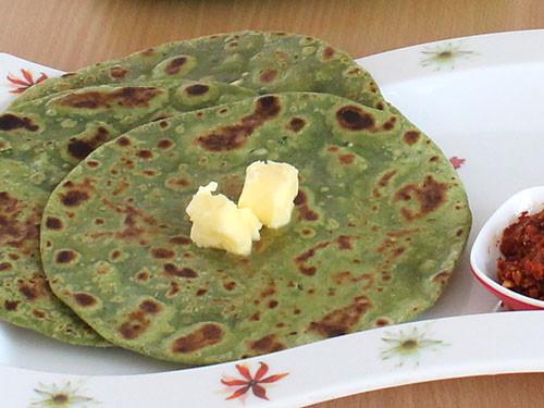 Palak Paratha