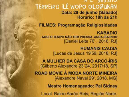 Mostra CineAfroBH promove exibição de filmes em terreiro de Belo Horizonte