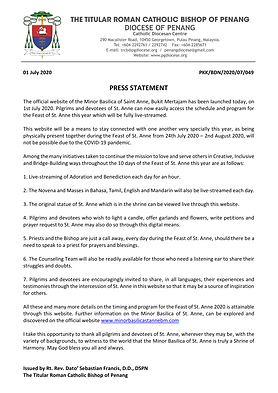 Press Statement_Official Website of Mino