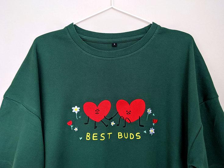 Best Buds T-Shirt Dress