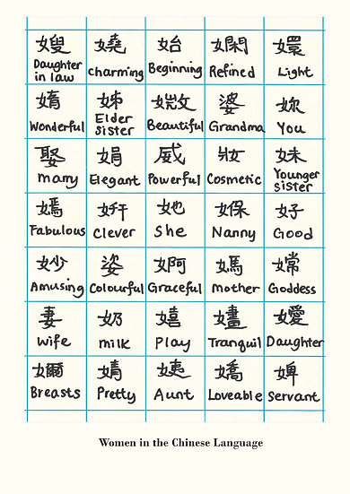 Women in the Chinese Language Print
